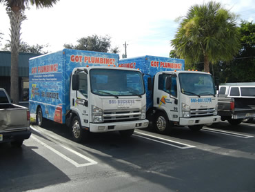 buckeye plumbing trucks west palm beach fl